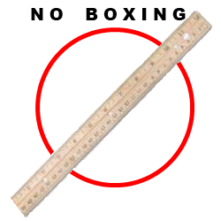 Little Angels - Bare Knuckle Boxing is not allowed.