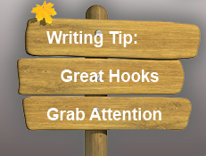 Great Writing Hooks Grab Attention.
